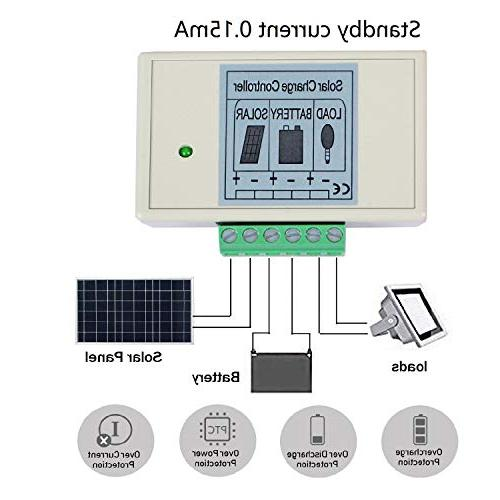 ECO-WORTHY PV Solar Panel System W/ 3A Charge Controller