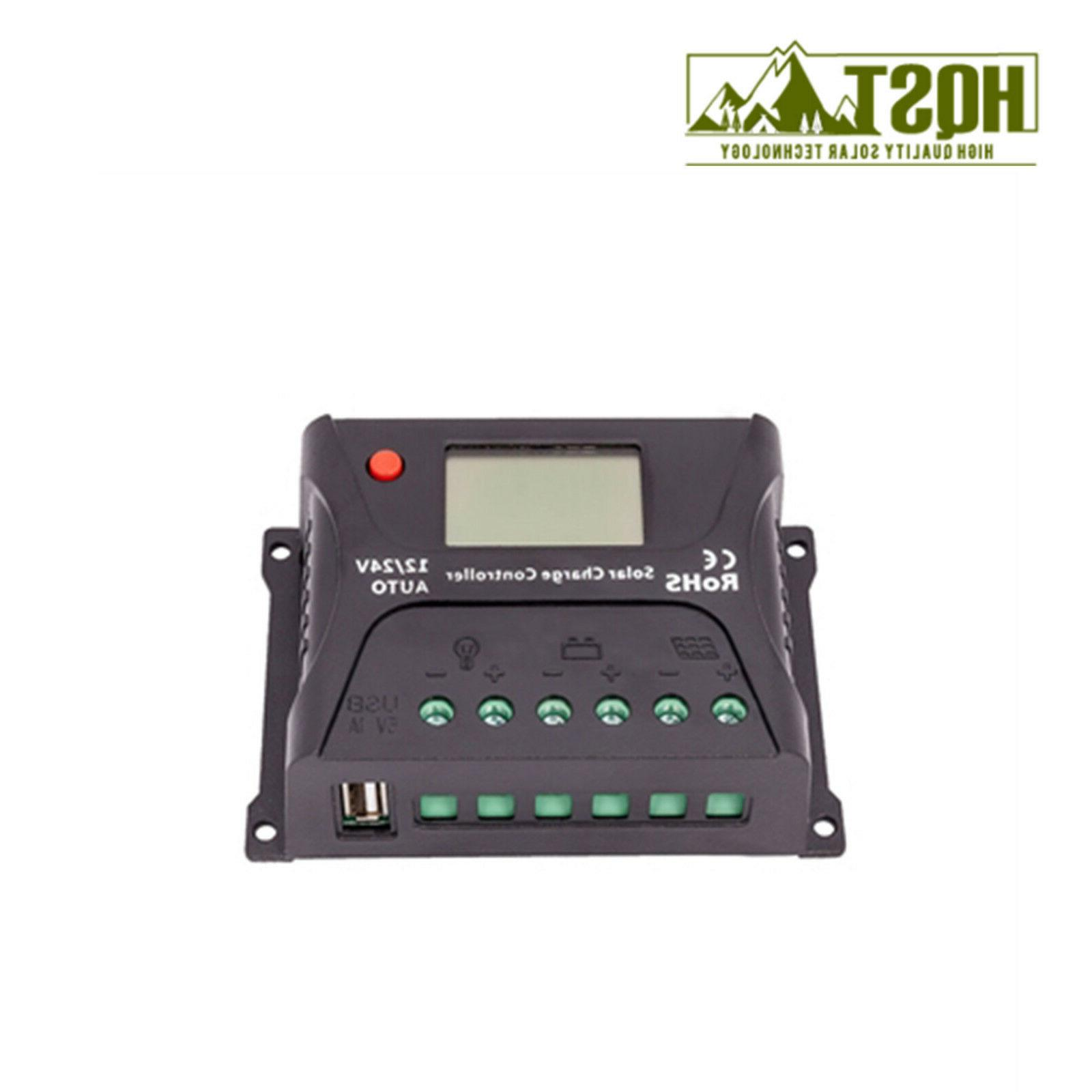 HQST 10A Charge 24V Battery Regulator Display