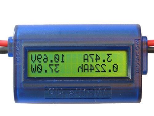 rc watt meter power analyzer