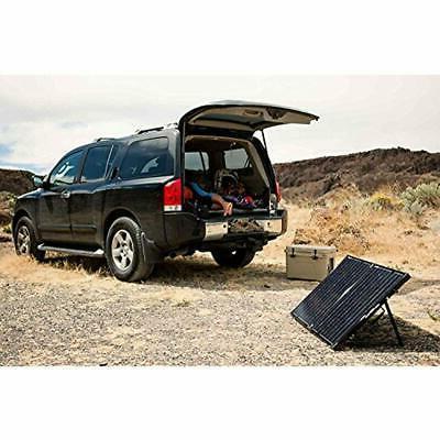 Solar Panels Foldable Kit Mono Without Charge Garden