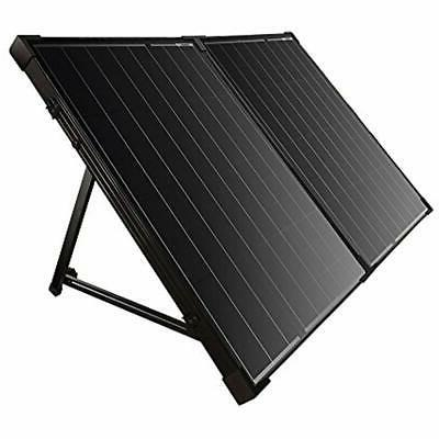 solar panels foldable suitcase kit 100w mono