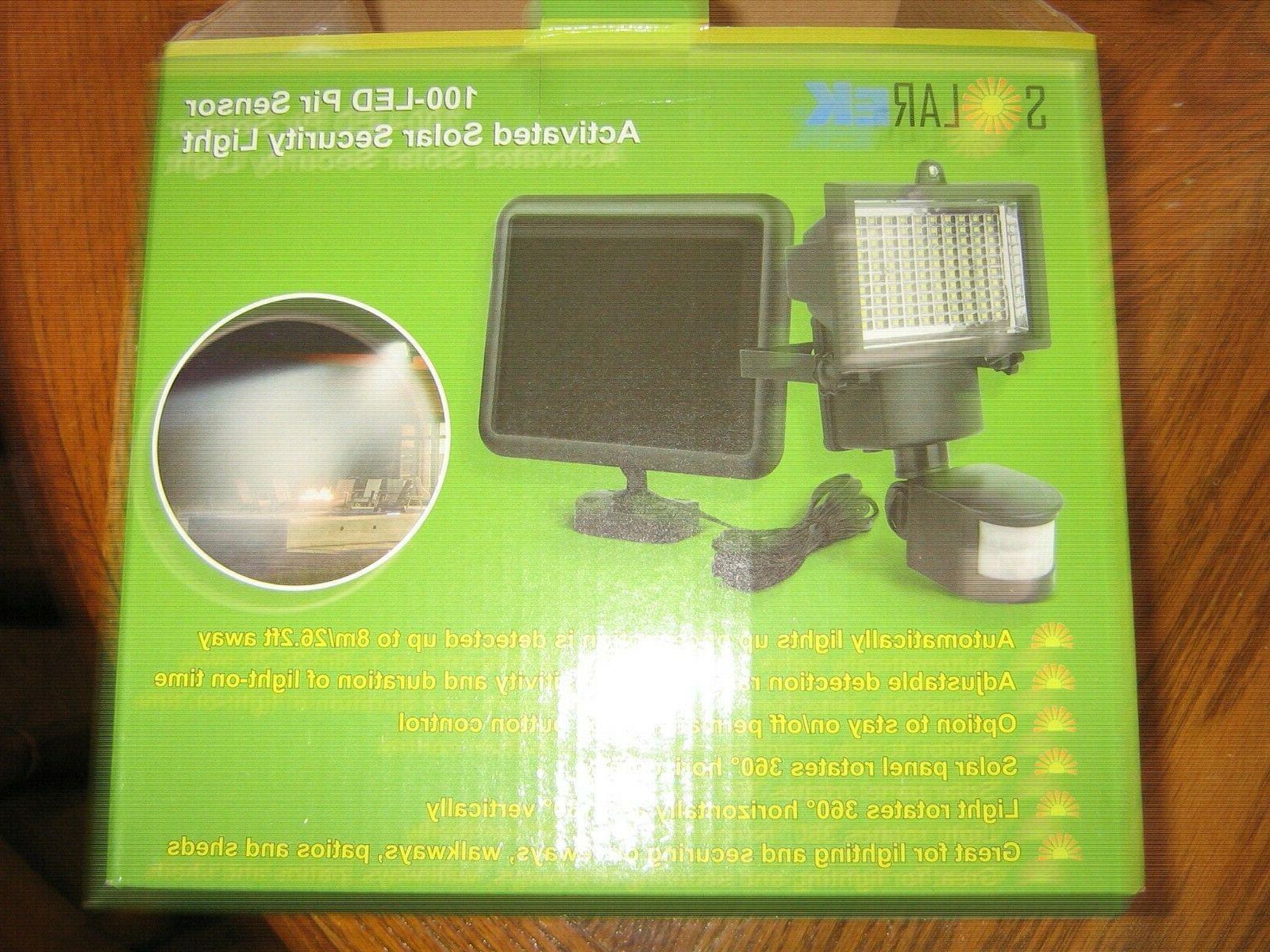 , LED Powered PIR Security Flood Lamp