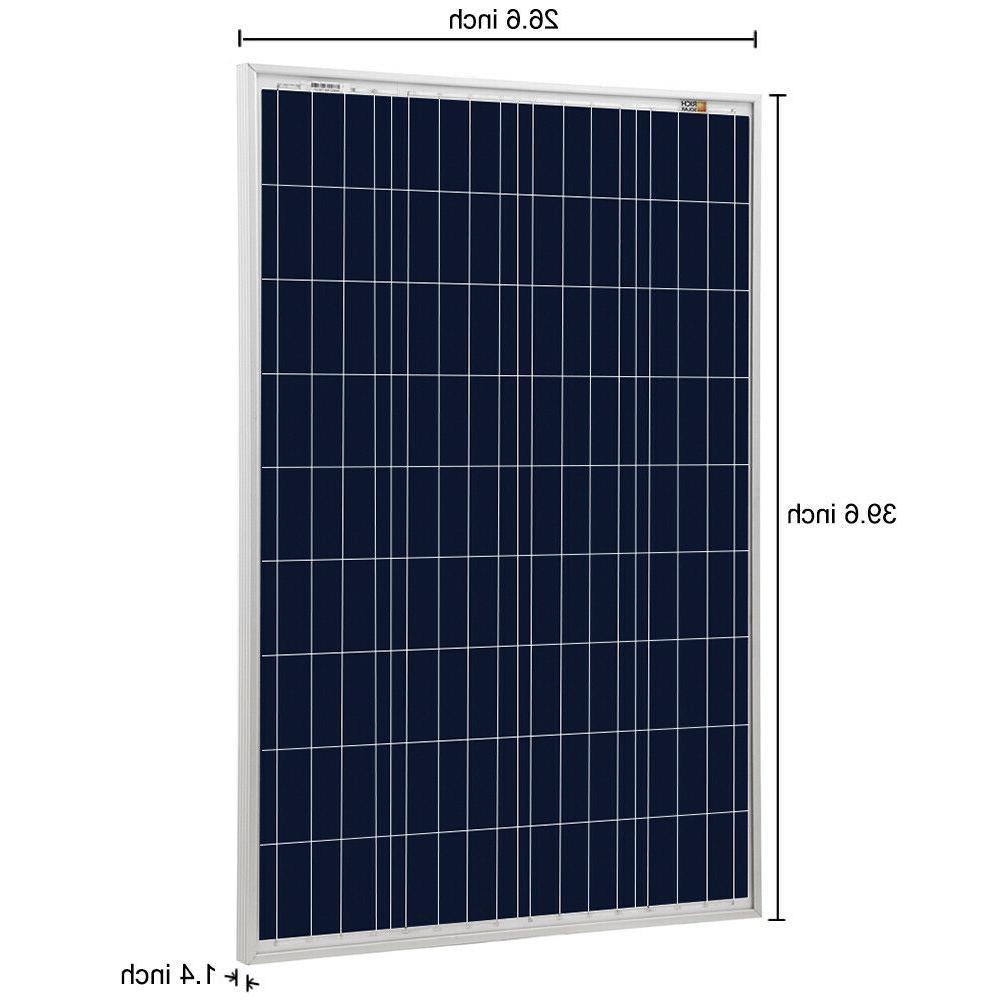 RICH SOLAR Solar Panel 12 Battery Boat