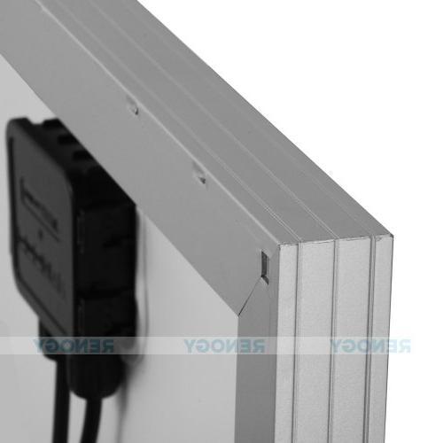 Renogy Monocrystalline Photovoltaic Panel Battery Charging