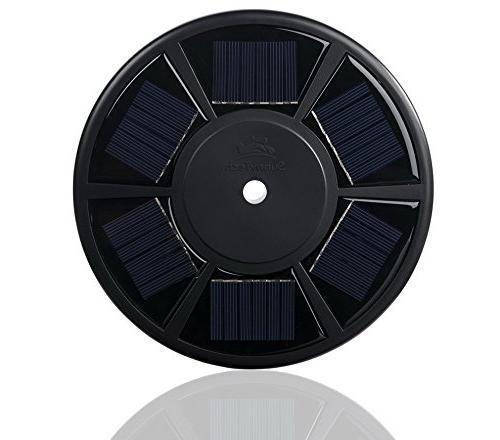 Sunnytech 2nd Solar Flag Light,Brightest, Longest Lasting & Most Flag Downlight up on Most 15 Flagpole for Lighting White+Black
