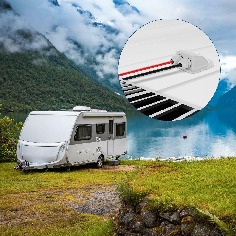 2Pack Cable Gland Box Panel Motorhome Camper Caravan Boat