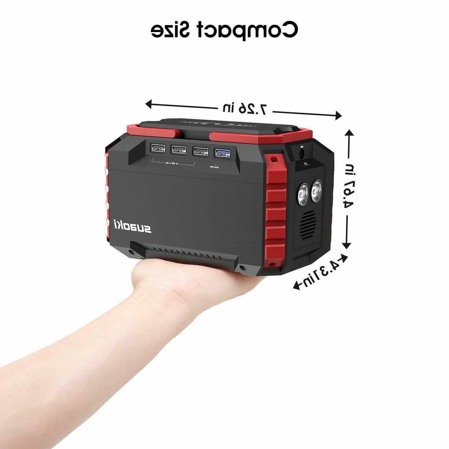 Suaoki S270 150Wh Power Generator Supply 150W Inverter Storage SOS