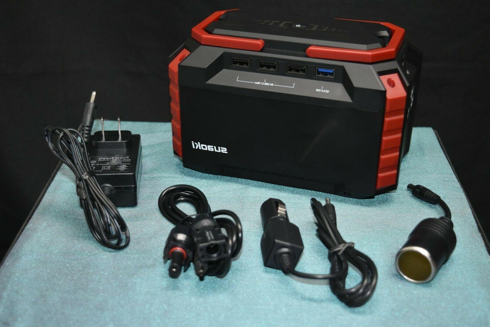 1 s270 portable charging station solar generator