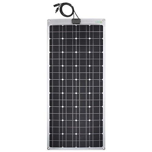 semi flexible monocrystalline solar panel