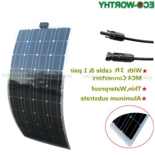 Semi Solar Panel 150W 100W Power Charge