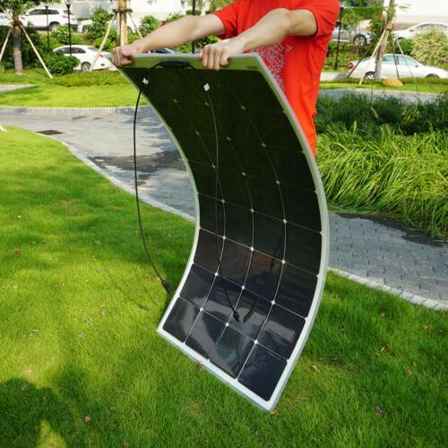 semi flexible solar panel 100w 50w 40w