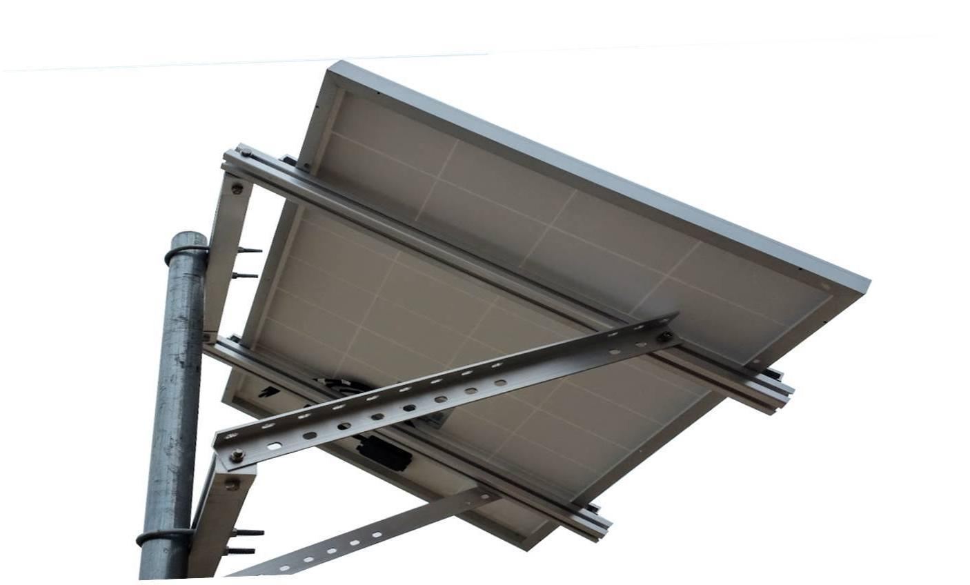WindyNation Side Solar Mount for to Solar Panel