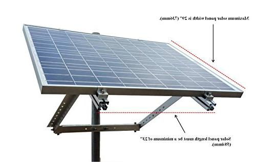 WindyNation of Solar Rack for 30W to Solar Panel