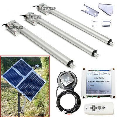 single axis solar tracking system 12v linear