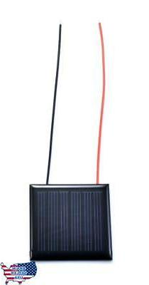 Small Solar Panel 3.0V 70mA with wires, New, Free Ship