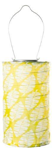 Allsop Home and Garden Soji Lime Leaf Cylinder,  LED Outdoor