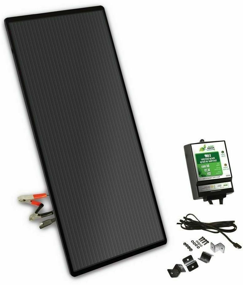 Nature Power 22W Solar Power 12V Battery Charger with Contro