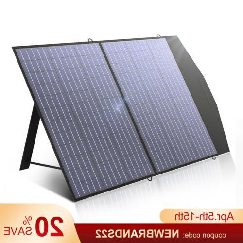 solar charger 18v100w foldable solar panel portable