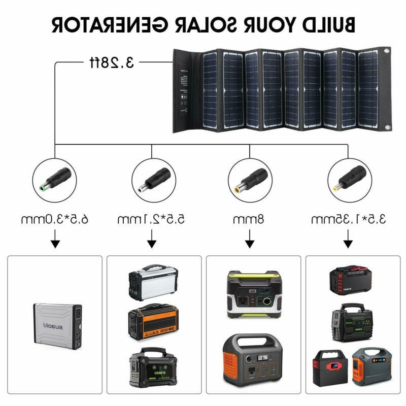 SUAOKI Solar Charger Portable Panel Foldable for
