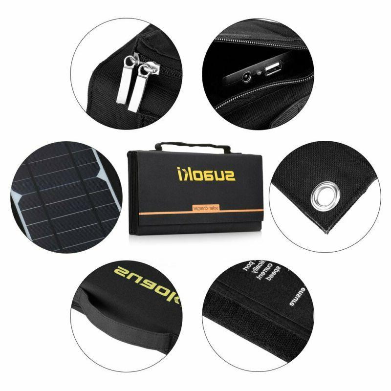 SUAOKI Solar Charger Portable Solar for