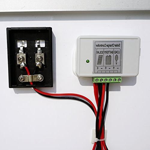 ECO-WORTHY 40W 12V Solar Panel Module 3 Controller for RV