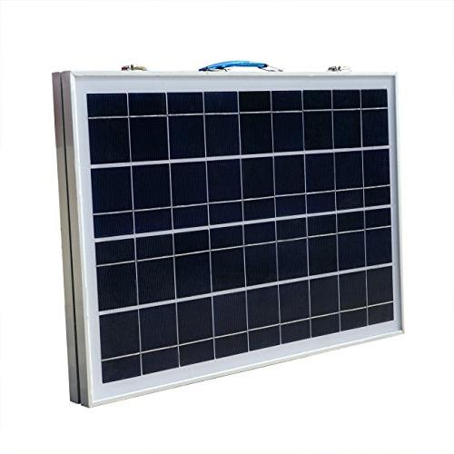 ECO-WORTHY 40W 12V Solar Charger Folding Solar Panel 3 Controller for RV Boat