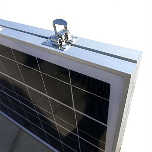ECO-WORTHY Charger Kits Solar Panel Module 3 Charge for Boat
