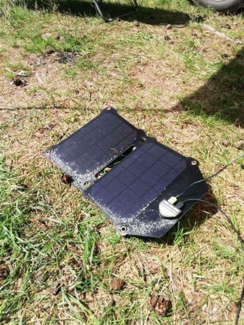 Solar Monocrystalline Dual Foldable Power Bank Cells