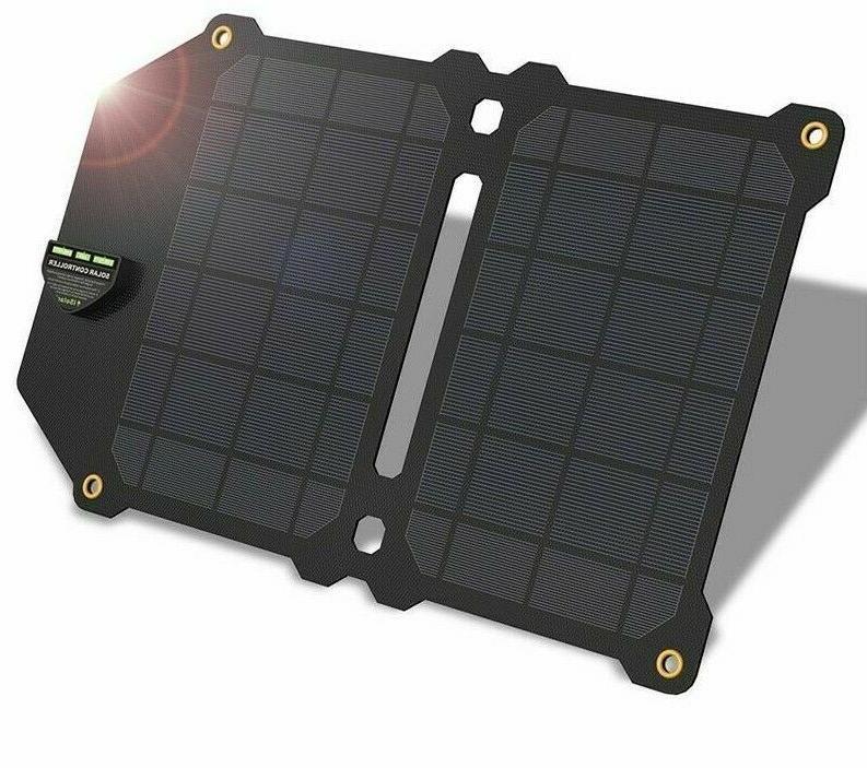 solar charger monocrystalline silicon dual usb panel