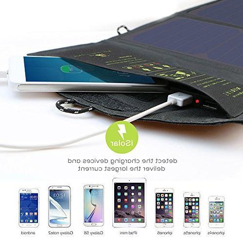 ALLPOWERS Panel Port Efficiency Solar Panel for Phone