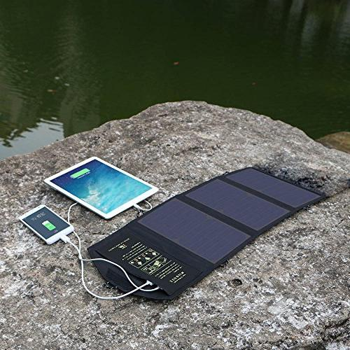 ALLPOWERS Solar Charger with Port Efficiency Solar for