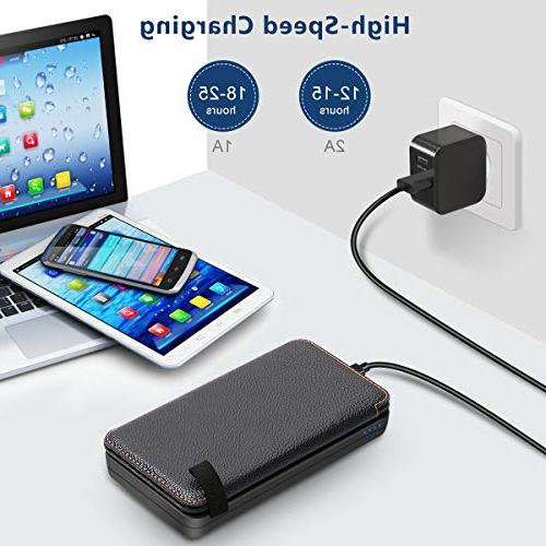 Hiluckey Outdoor Battery Bank for iPhone, Samsung Other Smart