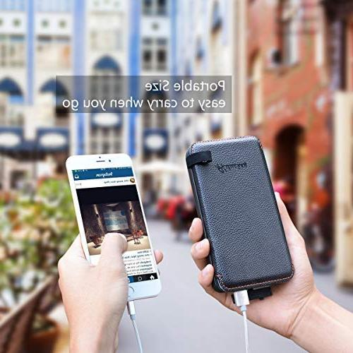 Hiluckey Solar Charger Outdoor Battery Pack Waterproof Bank Samsung Other Devices