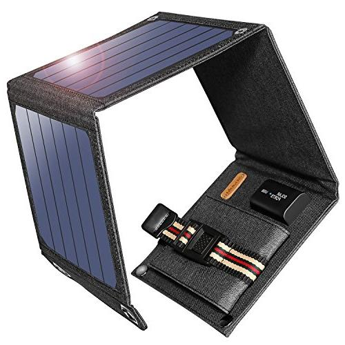 solar charger portable foldable