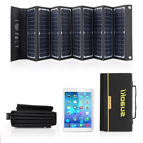 SUAOKI Solar Portable Foldable High 18V Charger GPS iPhone iPad Other 5-18V Device