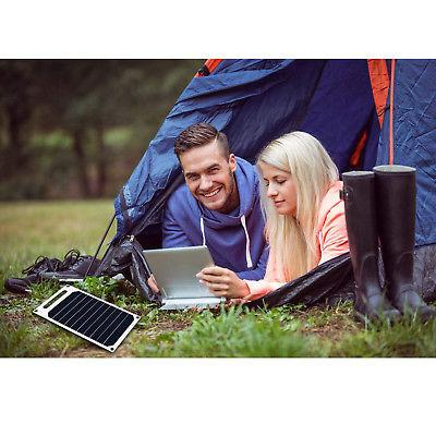 10W Solar Charger USB Mobile Smart Phone iPhone Samsung