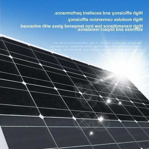160W Polycrystalline Flexible Solar Panel Solar Power For Of