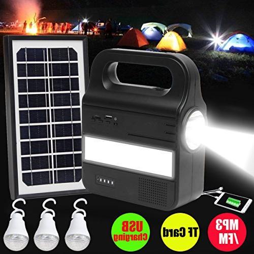 solar generator portable panel