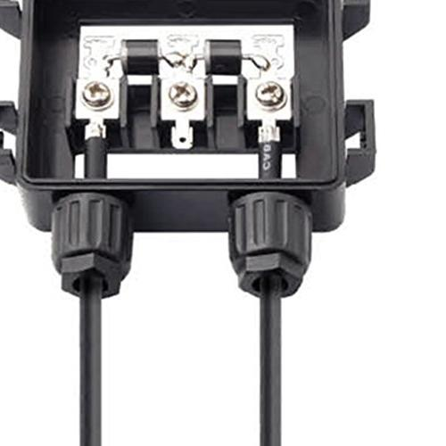 MagiDeal PV Connector with 2 Diodes for Panel 50W-170W