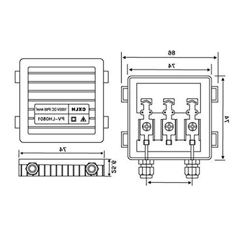 MagiDeal Solar Junction PV 50W-170W