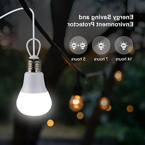 SUAOKI Solar System Portable Light with Solar USB USB Cable for Outdoor