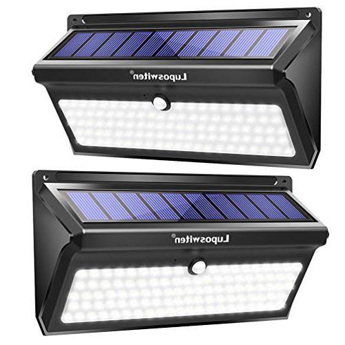 Luposwiten 100 LED Solar Lights Outdoor, 2000 Lumens Waterpr