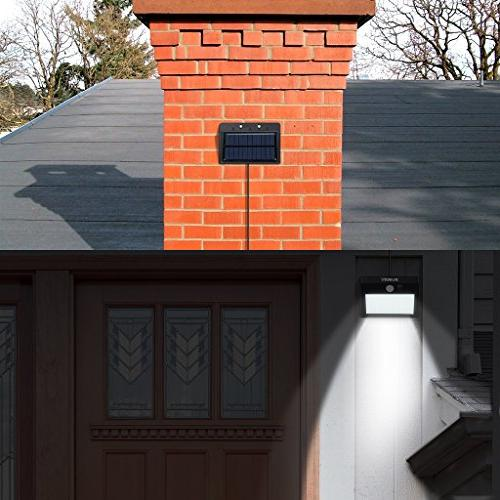 SUAOKI Lights Super 28 Waterproof Motion Light Detachable Light for Deck Yard Pathway Garden, of