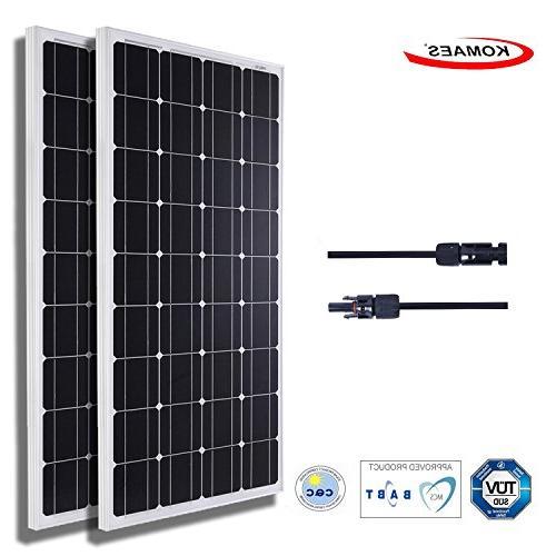 solar monocrystalline panel charger