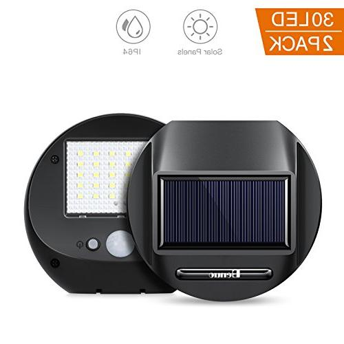 solar motion sensor lights waterproof