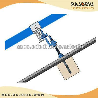 Solar L-Bracket Metal rails-with
