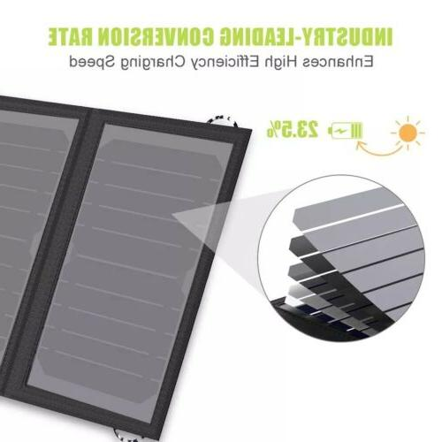 ALLPOWERS Solar Panel 5V Portable Battery Camping