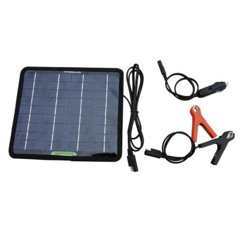 Solar 12V Charger Boat Waterproof