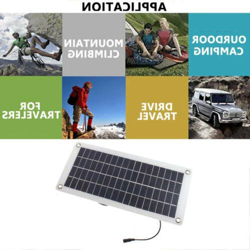 Solar Charge Battery Maintainer Marine RV Car