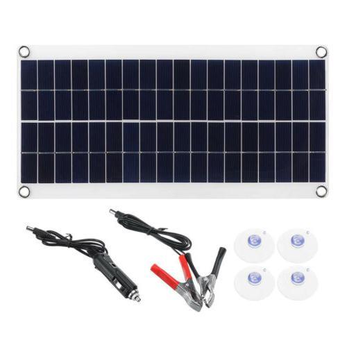 Solar Panel Charge Kit Car